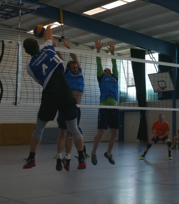 Herren1 Volleyball Block