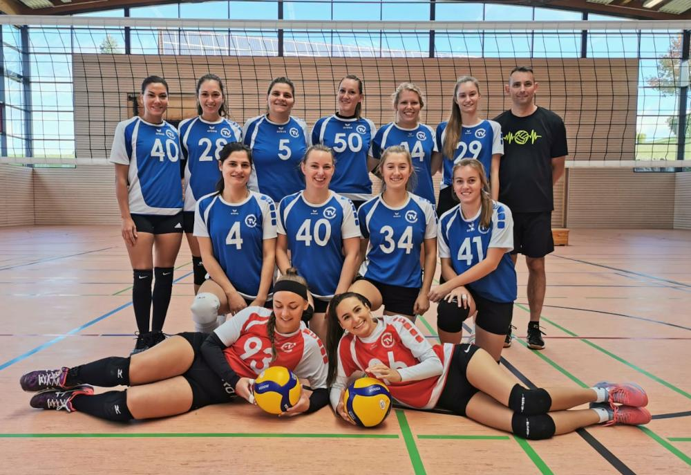Damen 1 Volleyball Teamfoto
